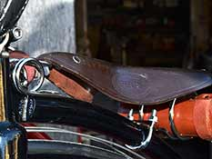 Superior Black Saddle Detail