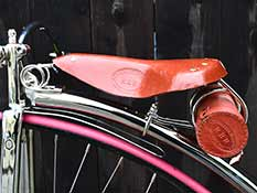 Superior Light Brown Saddle detail