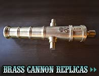 Brass Cannon Replicas